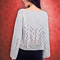 lace raglan pullover knitting pattern