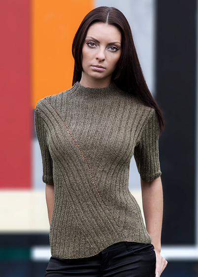 ribbed top knitting pattern