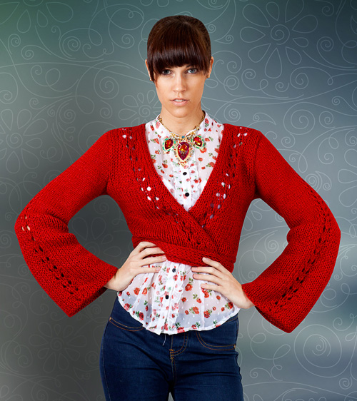 ruby knitting pattern