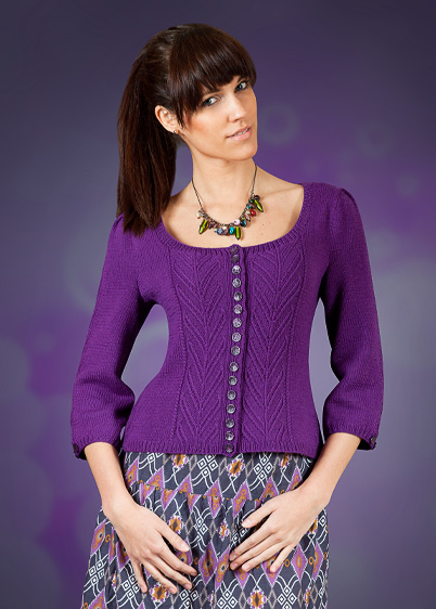 violet knitting pattern